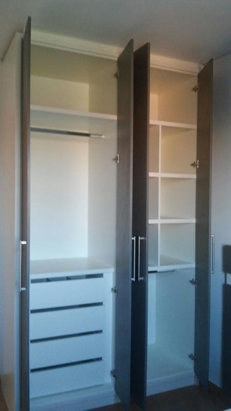 Armário Planejado para Apartamento Pequeno Parque Campolim - Armário Planejado Cozinha