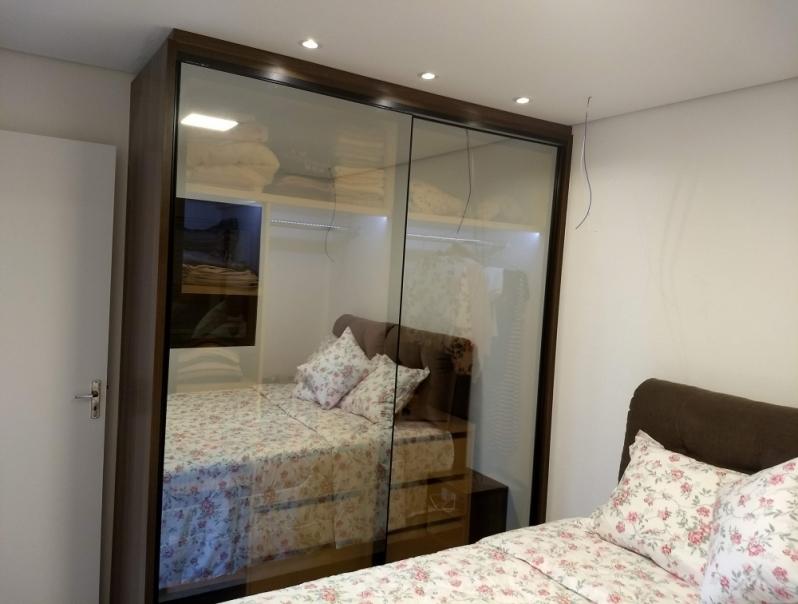 Armário Planejado para Quarto Pequeno Preço Capela do Alto - Armário Planejado Apartamento