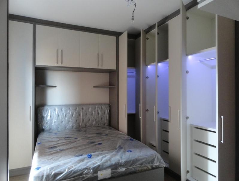 Armário Planejado para Quarto Preço Condomínio Residencial Trivoli - Armário Planejado para Apartamento Pequeno