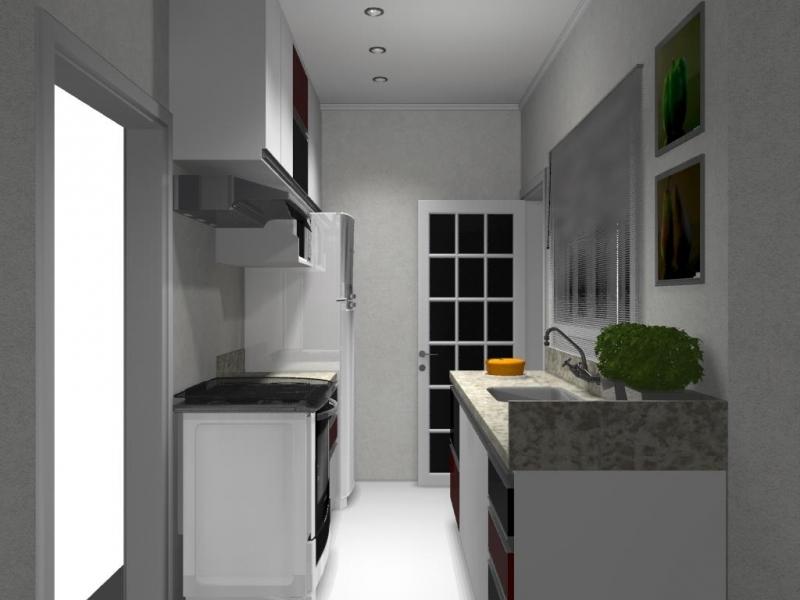 Cozinha Planejada Apartamento Itu - Cozinha Planejada com Ilha