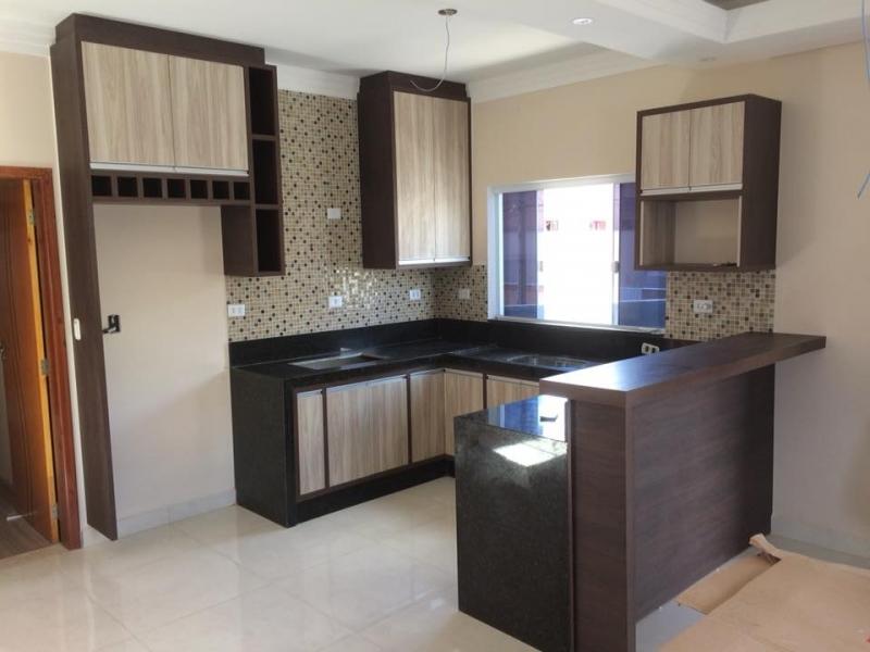 Cozinha Planejada com Balcão Vila Gabriel - Cozinha Planejada Pequena