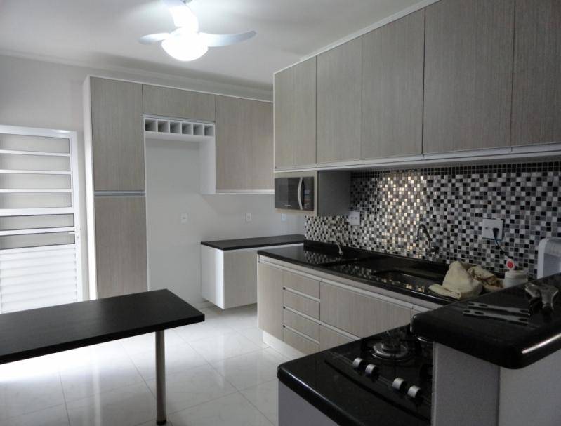 Cozinha Planejada com Bancada Lençóis Paulista - Cozinha Planejada com Ilha