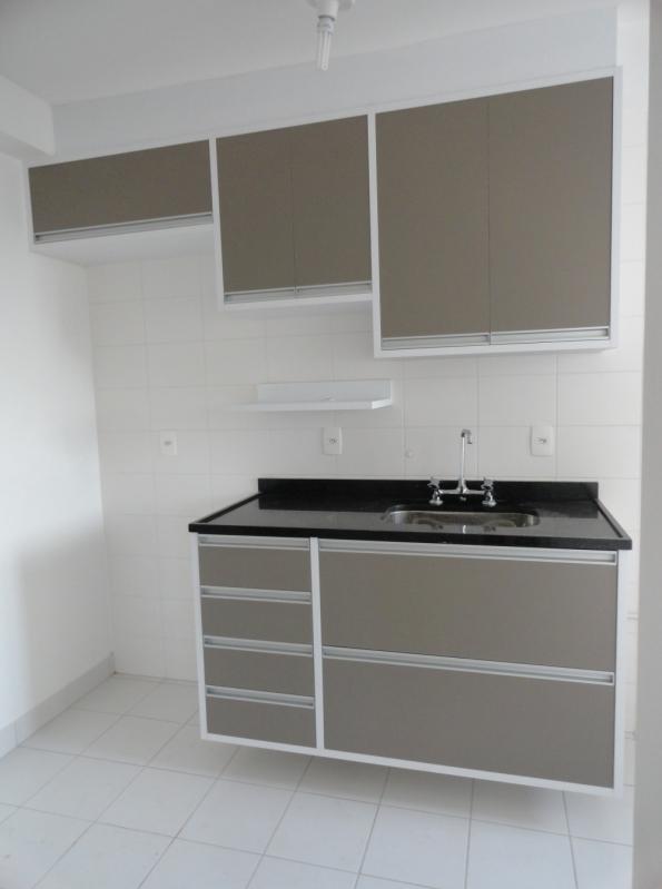 Cozinha Planejada Pequena Recreio dos Sorocabanos - Cozinha Planejada Apartamento