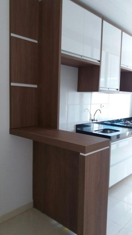 Cozinhas Planejadas com Bancada Recreio dos Sorocabanos - Cozinha Planejada com Ilha