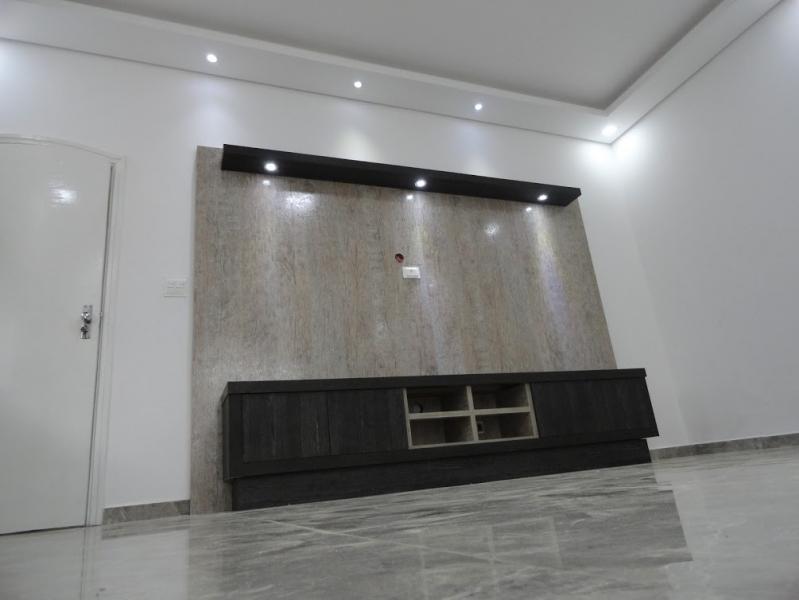 Home Theater Planejado com Bar Preço Recreio dos Sorocabanos - Home Theater Planejado com Espelho