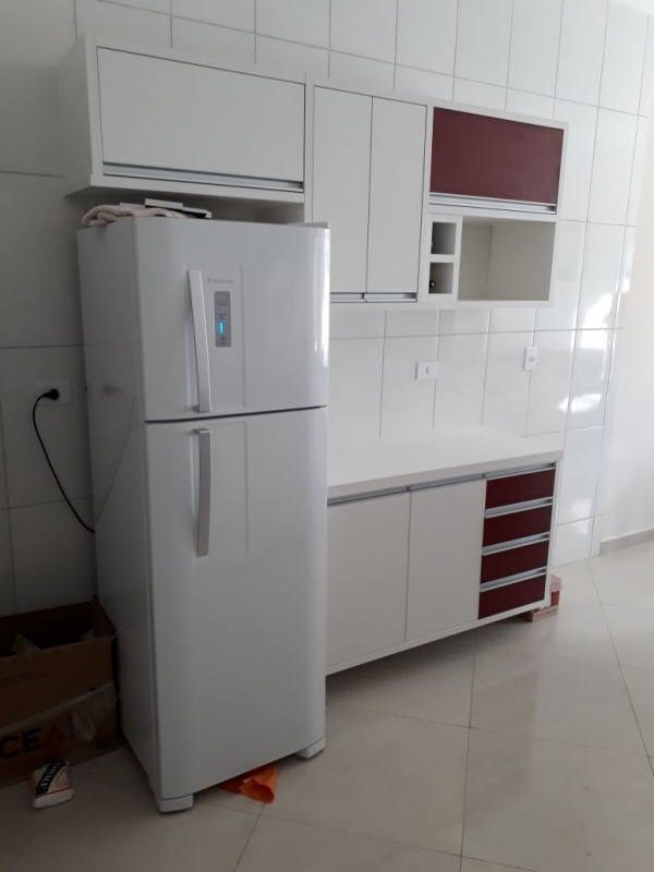 Móveis Planejados Apartamento Pequeno Vila Mineirão - Móveis Planejados Cozinha