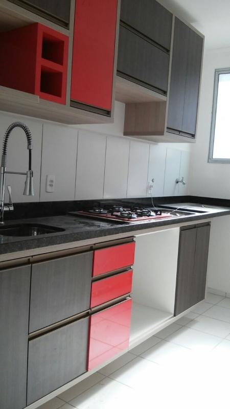 Móveis Planejados Armário de Cozinha Ibiti Reserva - Móveis Planejados de Madeira