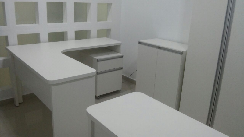 Móveis Planejados de Escritório Preço  Brotas - Móveis Planejados Apartamento Pequeno