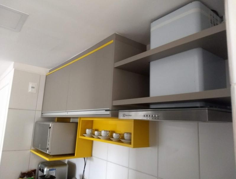 Onde Encontro Armário Planejado para Cozinha Pequena Alto da Boa Vista - Armário Planejado para Cozinha