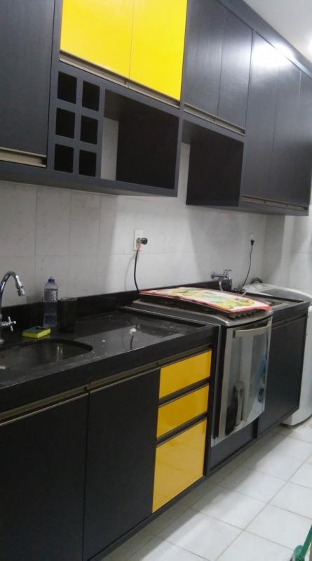 Onde Encontro Cozinha Planejada de Apartamento Granja Olga - Cozinha Planejada