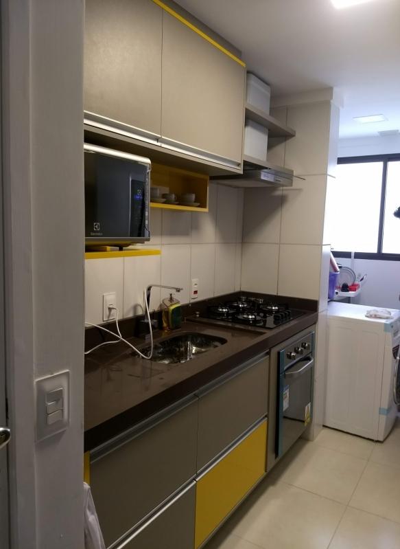 Quanto Custa Cozinha Planejada Apartamento Vila São Caetano - Cozinha Planejada com Ilha