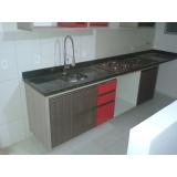 armário planejado cozinha pequena Vila Lucy