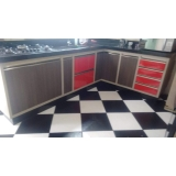armário planejado cozinha Jardim Leocádia