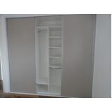 armário planejado para apartamento pequeno preço Jardim Leocádia