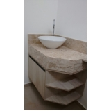 armário planejado para banheiro moderno valor Jardim Capitão