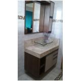armário planejado para banheiro Vila São João