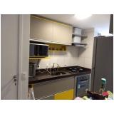 armário planejado para cozinha pequena Jardim Piratininga