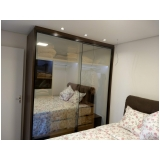 armário planejado para quarto pequeno preço Condomínio Sinfonia