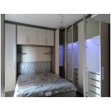 armário planejado para quarto pequeno valor Vila Florinda