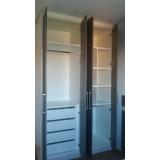 armário planejado para quarto Alumínio
