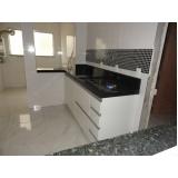 cozinha planejada branca preço Jardim Guarujá