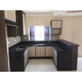 cozinha planejada com bancada preço Vila Florinda