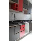 cozinha planejada de apartamento preço Jardim Califórnia
