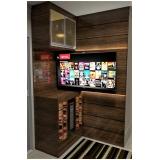 home theater planejado moderno preço Ourinhos