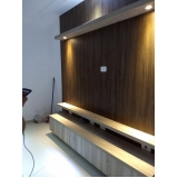 home theater planejado para sala Ibiti Royal
