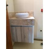 móveis planejados de banheiro preço Jardim Americano