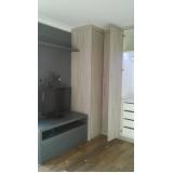 móveis planejados de quarto preço Granja Olga
