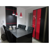móveis planejados para cozinha Parque Campolim