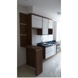 quanto custa armário planejado para cozinha pequena Parque dos Eucaliptos