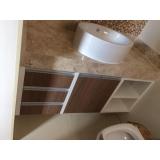 quanto custa móveis planejados de banheiro Fazenda Bonanza