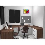 quanto custa móveis planejados de escritório Além Ponte